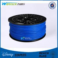 Quality Blue 3.0 mm 3D Printer Filament with Spool 185 deg B Type Translucent Color for sale