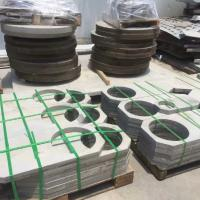 Quality Hot Roll 316L 321 304 Stainless Steel Plate Rings 3.0 - 80.0mm For Flange Blank for sale