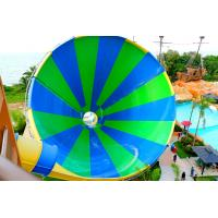 Quality Exciting Fiberglass Big Tornado Water Slide 4 Loads For Outdoor Water Park for sale