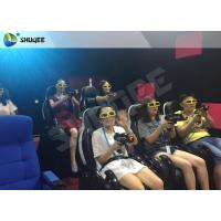 Buy cheap Entertainment 7D Cinema System And 7D Seats With Special Effect Of Spray Air product