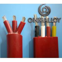 Buy cheap Thermocouple Stranded Twisted tinned Copper silicone insulated wires 3x2.5 cross section product