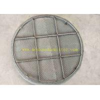 China Duplex 2205 Knitted Mesh Pad Demister High Corrosion Resistance on sale
