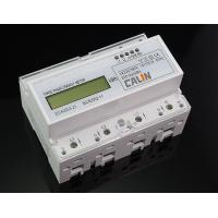 Quality Class 1S Accuracy Din Rail Power Meter RTU Protocol 3 Phase Power Meter for sale