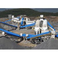 Quality Aggregate Stone Crushing Line Sand Production Line For Highway / Building for sale