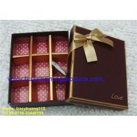 Quality Pretty Chocolate Boxes for sale