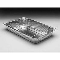 Quality Silver Aluminum Foil Baking Pans Food Freezing Deep Rectangle Shape for sale