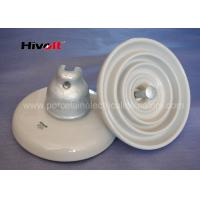 ANSI 52-3 White Disc Suspension Insulator For Distribution Power Lines