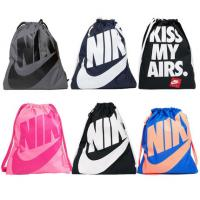 Quality Nike men and women sports fitness bag travel storage bag drawstring beam shoulder bag for sale
