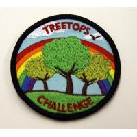 China Embroidered Custom Patches / Badges With Personalized Pattern For Clothing / Cloths on sale