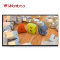 Quality All In One LCD Interactive Whiteboard 86 Inch Teaching Use 4k Display Touch for sale