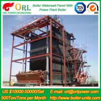 Quality CFB 110 MW Boiler Water Wall Panels For High Temperature Solid Fuel Boiler for sale