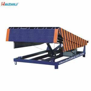 China Warehouse loading bridge 8 ton stationary yard dock leveler in china on sale
