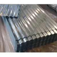 Quality Corrugated Galvanized Steel Roof With Total Thickness of 0.18 mm for sale
