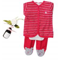 China Little Children Clothes Newborn Baby Girl Clothes Baby Gear 3 Piece Set on sale