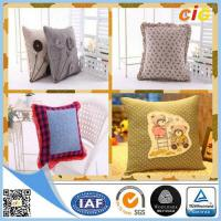 Custom Decorative Throw Pillows , Polyester Printed Frozen Pillow Case for Sofa or Bed