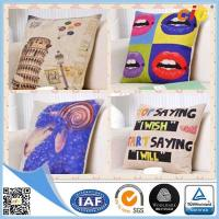 Buy cheap Natural Color Digital Printing 100% Cotton Decorative Cushion Covers for Home from wholesalers