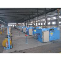 Quality Bare Copper Wire Bunching Machine / double twist cable bunching machine for sale