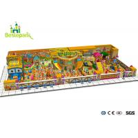 Buy cheap Commercial Center Indoor Playground Kids Climbing Frame With Slide Static from wholesalers