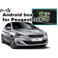 Quality Peugeot 208 2008 308 3008 508 Audio Video Interface SMEG+ MRN SYSTEM Upgrade WIFI BT Mirror Link for sale