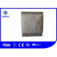 Quality Disposable Soft Wound Care Dressings White Cotton Abd Pads For Personal Care for sale