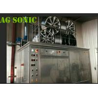4500W Industrial Sonic Cleaning Tank / Tyre Washing Machine With Pneumatic Lift