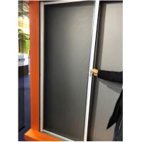 Quality Fire Resistant Aluminum Roll Up Mosquito Screen Door Convenient Insect Protection for sale