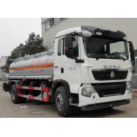 Quality SINOTRUK HOWO 4x2 10000L Oil 266hp HOWO 10000 liter fuel transfer tank truck for sale