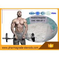 Quality Oral Anabolic Steroids Oxymetholone Anadrol CAS 434-07-1 for Fat Loss Bodybuilding for sale