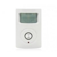 Quality Smart Wireless PIR Motion Sensor Wall or Stand Alarm with Wireless Remote CX802 for sale