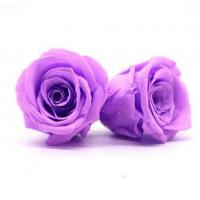 China Long Time Using Dried Rose Heads , Allergy - Friendly Floral Head Wreath on sale
