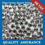 Quality iron on aluminium rhinestuds hotfix aluminium rhinestuds heat transfer aluminium rhinestuds for motif design jx0821 for sale