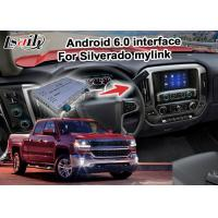 Quality Android 6.0 navigation box for Chevrolet Silverado video interface with rearview WiFi video mirror link for sale