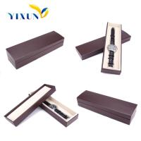 Buy cheap china leather products manufacturer customized wrist watch boxes cases / pu gift watch box from wholesalers