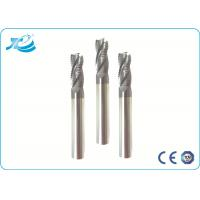 China 55 Hardness Roughing End Mill 6 mm Diameter Solid Carbide 14.3-14.8 G/cm3 on sale