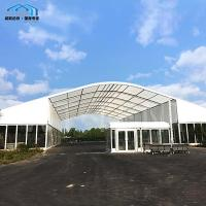 China Elegent Winter Arcum Tent Galvanized Steel Connectors Flame Retardant on sale
