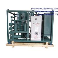 Quality High Vacuum Oil Dehyration Plant, Oil Degassing, Oil Dehyrating System for Transformer Oil for sale