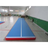 Quality No Noise Gymnastics Training Mats , Contemporary Air Bounce Mat For Kids for sale