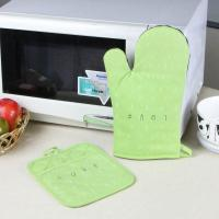 Quality Promotional Customized Pattern Kitchen Cooking Oven Mitts And Pot Holders With Neoprene Oven Mitt for sale