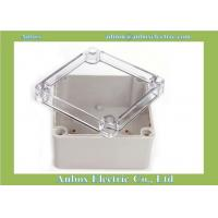 125*125*75mm ip66 electrical clear plastic case
