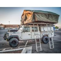 Quality Green And Beige Off Road Roof Top Tent 310*190*130CM Unfolding Size for sale