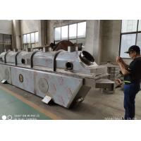 Quality Horizontal Vibro Fluid Bed Dryer For Food Pellets Drying Big Capacity Low Noise for sale