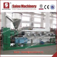 China hdpe bottle flakes recycling machine on sale