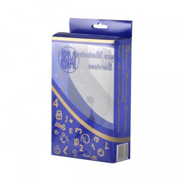 Buy Waterproof UV Coating PVC Gift Packaging Boxes at wholesale prices