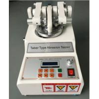 China Taber Abrasion Tester ASTM D7255 Leather Rotary Abraser For Wear Test on sale
