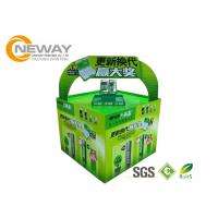 Buy cheap Light Duty Paper Cardboard Pop Up Display Stands / Pop Cardboard Point Of Purchase Displays product