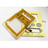 Quality Tactile Key Flexible Membrane Touch Switches Waterproof Membrane Switch 100mA for sale