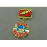 Quality Zinc Alloy Die Casting Custom Awards Medals , Military Medals With Hard Enamel for sale
