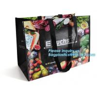 China Best Selling Custom Large Capacity Waterproof Foldable Tnt Non Woven Bag, High Demand Products Hot Sale Laminated Recycl on sale