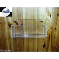 Quality Bath Bathroom Sponge Clear Acrylic Wall Holder Display Easel Mount Support Stand for sale