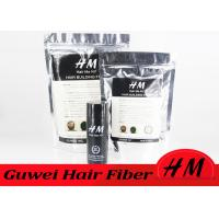 Quality Bulk Black Hair Fibre Refill Bags Mens Hair Loss Products OEM / ODM for sale